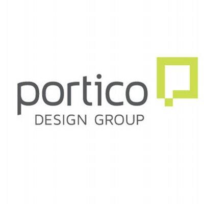 Portico Design Logo